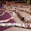 Et si on jouait aux dominos avec des livres ?
