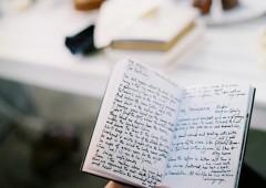 Indiscrétions sur un écrivain passionné