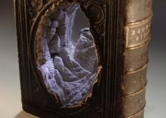 Des sculptures incroyables réalisées à base de livres