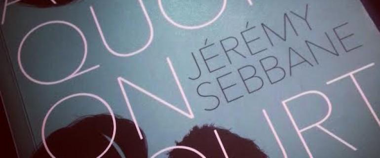 Après quoi on court de Jérémy Sebbane – MA Editions